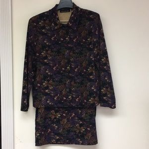 Briggs New York Gorgeous Soft Skirt Suit Size L